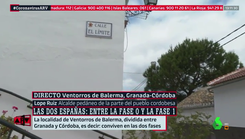 Un pueblo, dos fases de la desescalada: el atípico caso de Ventorros de Balerma