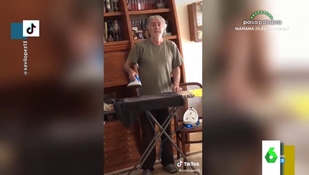El hijo de Siro López trolea a su padre en Tik Tok: estos son sus divertidos vídeos que arrasan en Internet