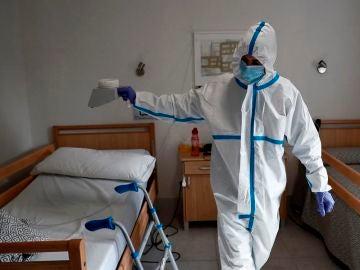 Desinfección con ozono en una residencia