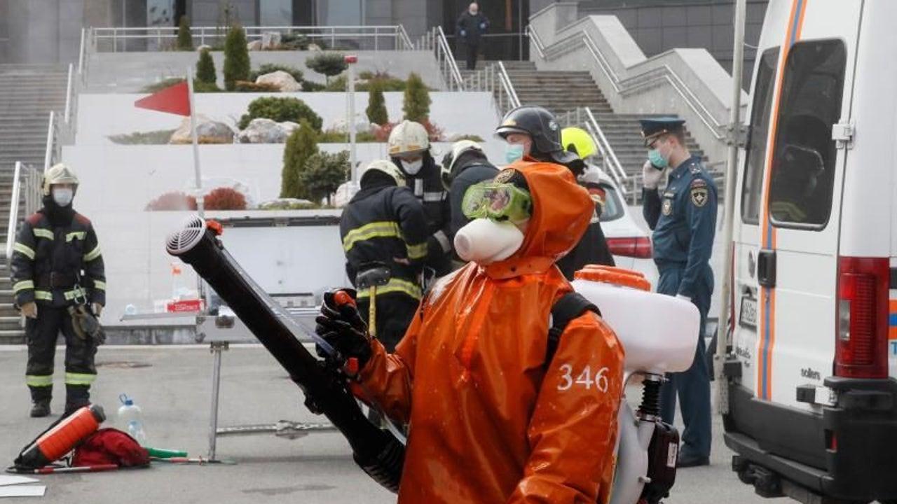 Incendio en la UCI de un hospital de San Petesburgo