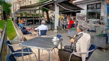 Vista de una terraza de Santander