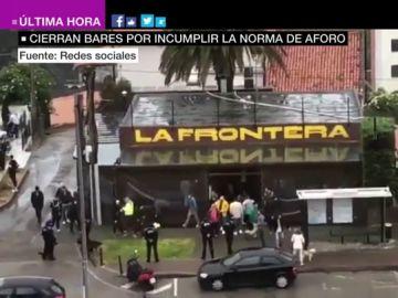 Desalojan un bar en Santander con más de 100 personas en su interior en la fase 1 de la desescalada