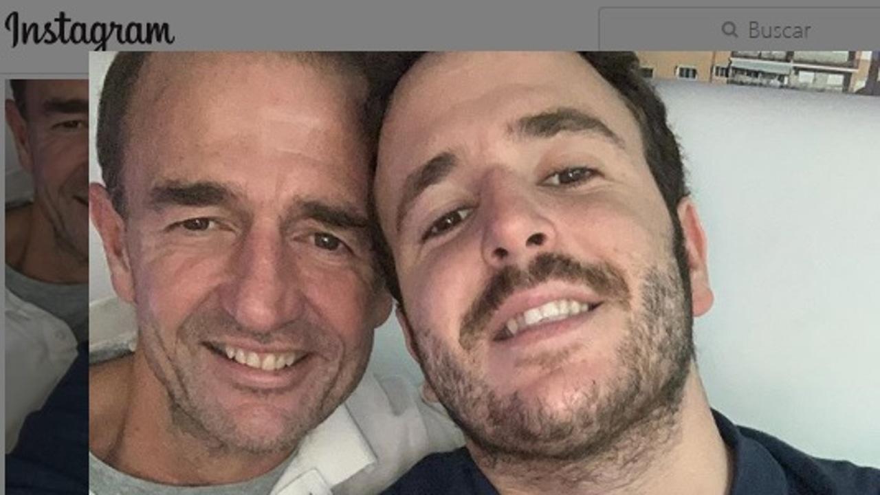 Alessandro Lequio y su hijo Aless
