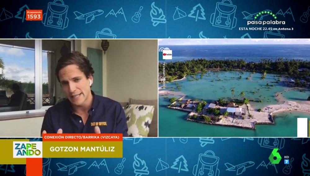 Gotzon Mantúliz presenta las islas Kiribati