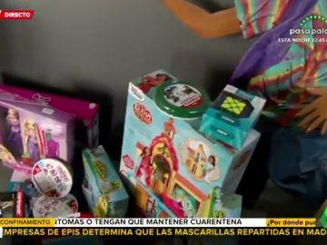 """La Fundación Aladina reparte más de 3.000 juguetes por el Día del Niño Hospitalizado para """"regalar sonrisas"""""""