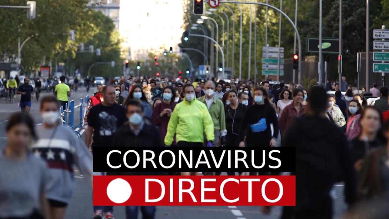 Coronavirus España hoy | Desescalada, fase 1, noticias y datos de última hora