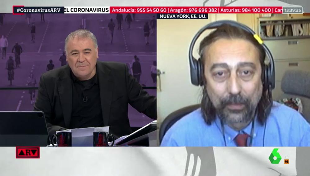 """El doctor García Sastre: """"El estudio de seroprevalencia viene a decir que las medidas de contención han funcionado"""""""