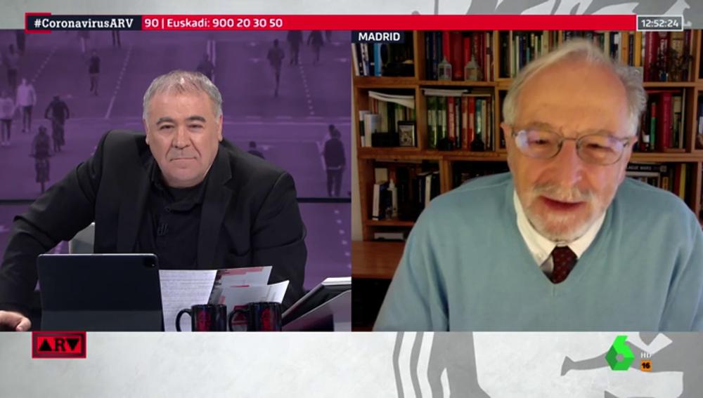 """Luis Enjuanes (CSIC): """"En España van muy bien las investigaciones, hay vacunas en marcha"""""""