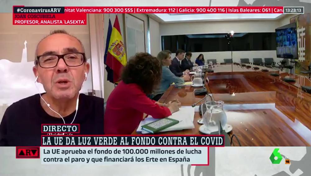 El analista de laSexta, Joan Coscubiela