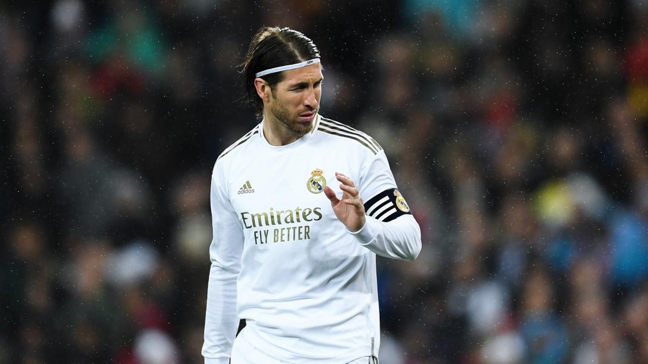 Sergio Ramos, con el Real Madrid