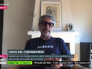 """La crítica de Sergio Dalma a los políticos: """"Me parece vergonzoso que todo se politice, se les ve demasiado el plumero"""""""