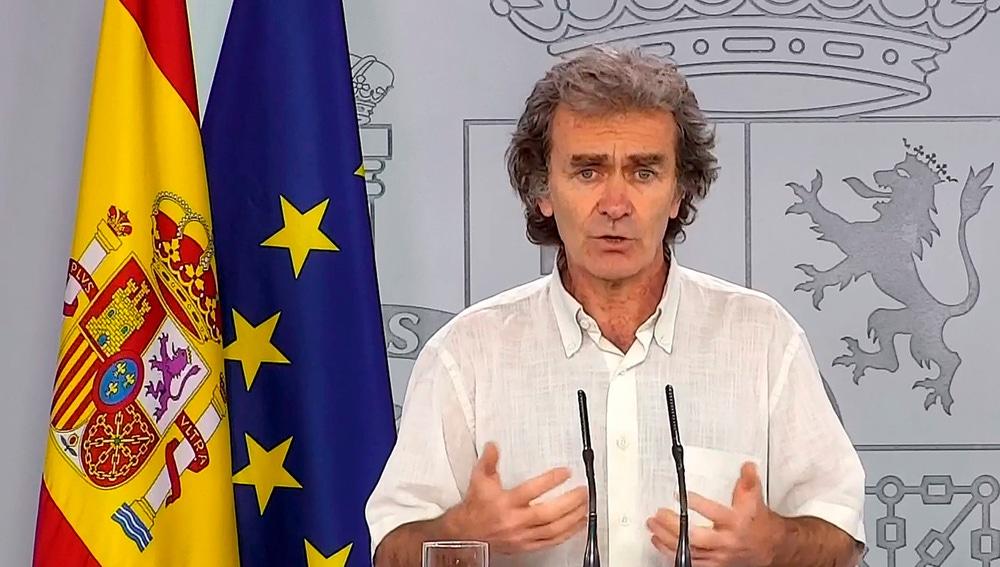Fernando Simón da los datos de coronavirus
