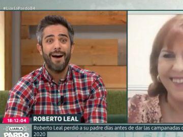 Roberto Leal, sorprendido por su madre en Liarla Pardo