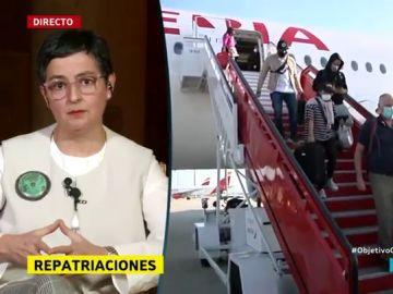González Laya en El Objetivo