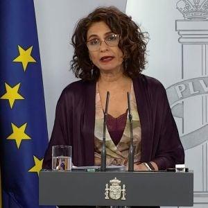 María Jesús Montero comparece en La Moncloa