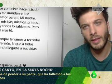 Blas Cantó en laSexta Noche
