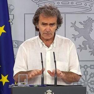 Fernando Simón en rueda de prensa (Archivo)