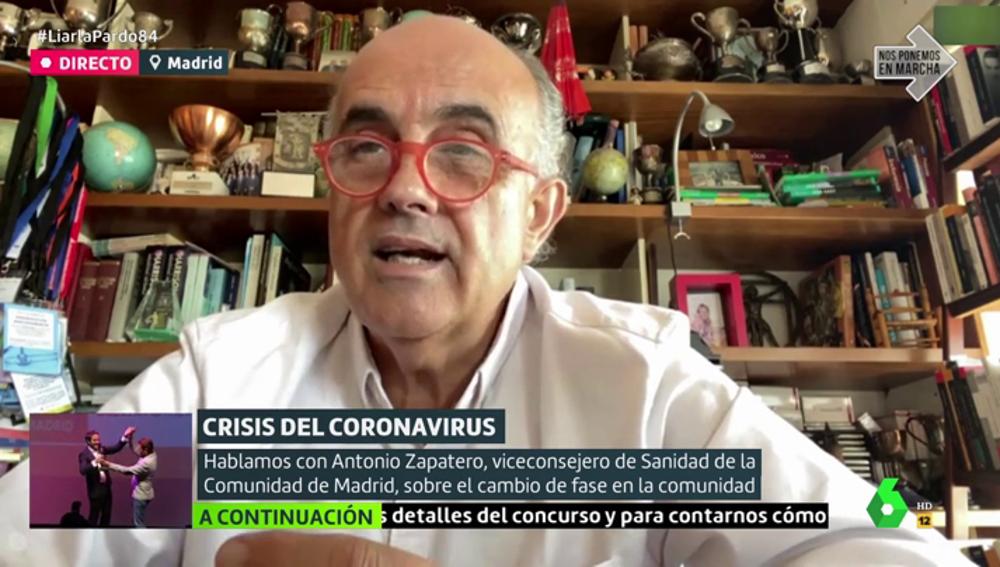 Antonio Zapatero, exdirector del hospital de Ifema