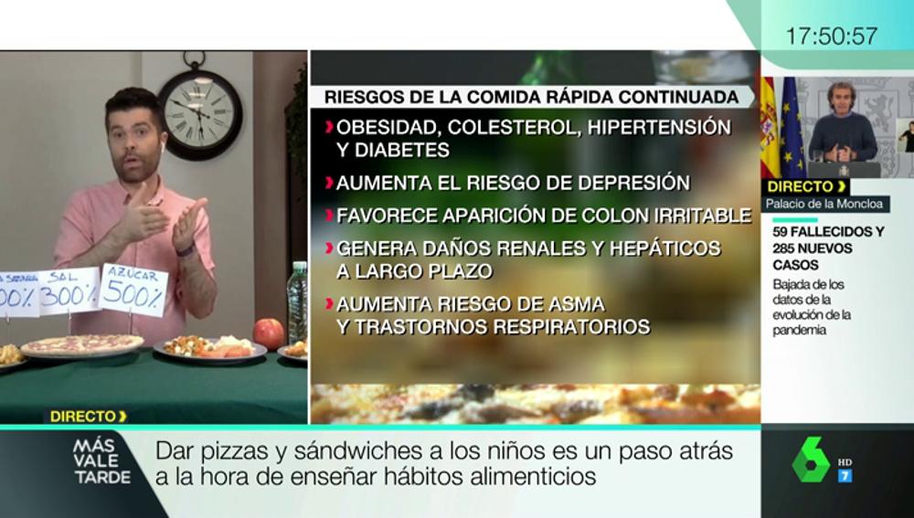 Depresión o problemas hepáticos: consejos nutricionales para evitar las consecuencias de los menús de la Comunidad de Madrid