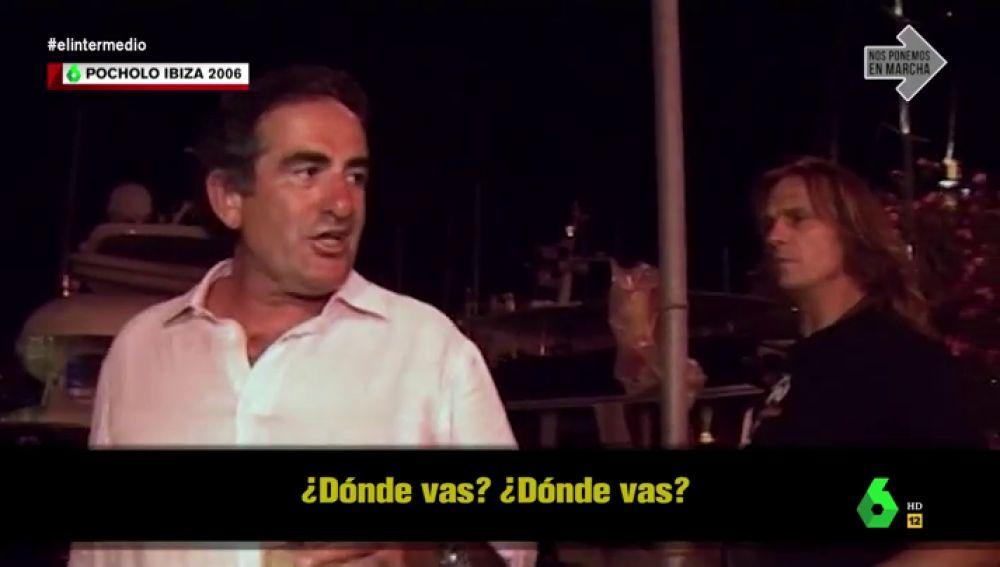 """El día que el alcalde de Ortigueira regalaba billetes morados en el programa de Pocholo: """"Yo soy rico, no vivo en estrecheces"""""""