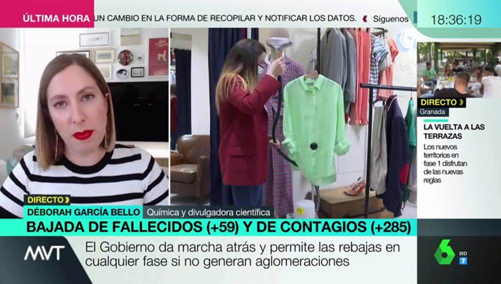 """Deborah García Bello recuerda por qué es importante mantener la higiene en los comercios: """"Es una situación grave y toda precaución es poca"""""""