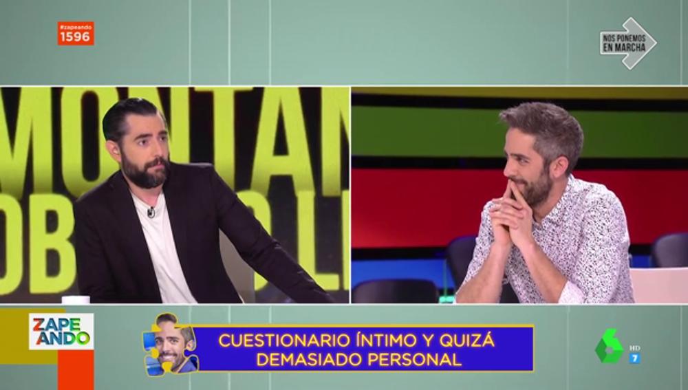 Dani Mateo y Roberto Leal