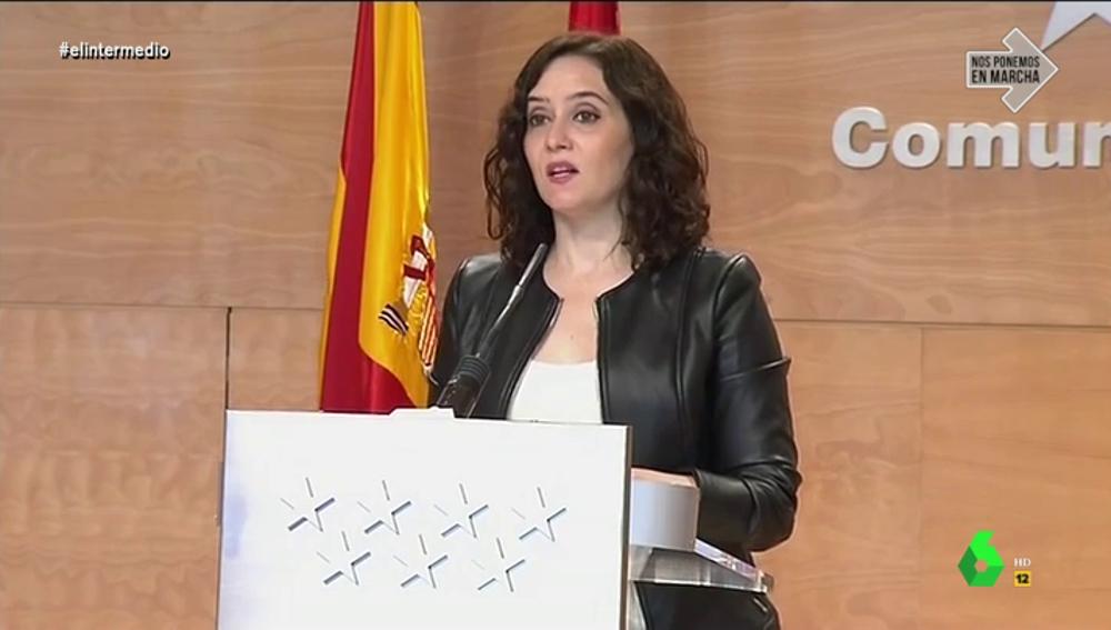"""""""Madrid tiene que tratar a los ancianos como en una urna"""": la inoportuna metáfora de Ayuso en plena pandemia"""