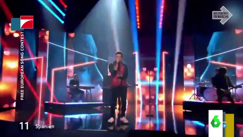 España gana por sorpresa el festival de Eurovisión alternativo: así suena 'Like I love you' de Nico Santos