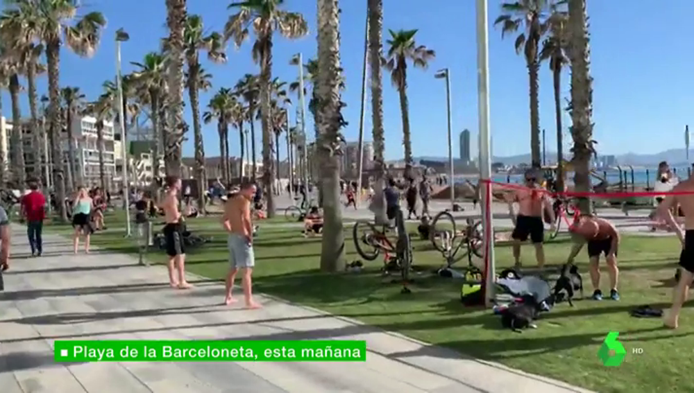 deportistas barcelona