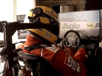 Atsushi Hiraoka recrea a Ayrton Senna