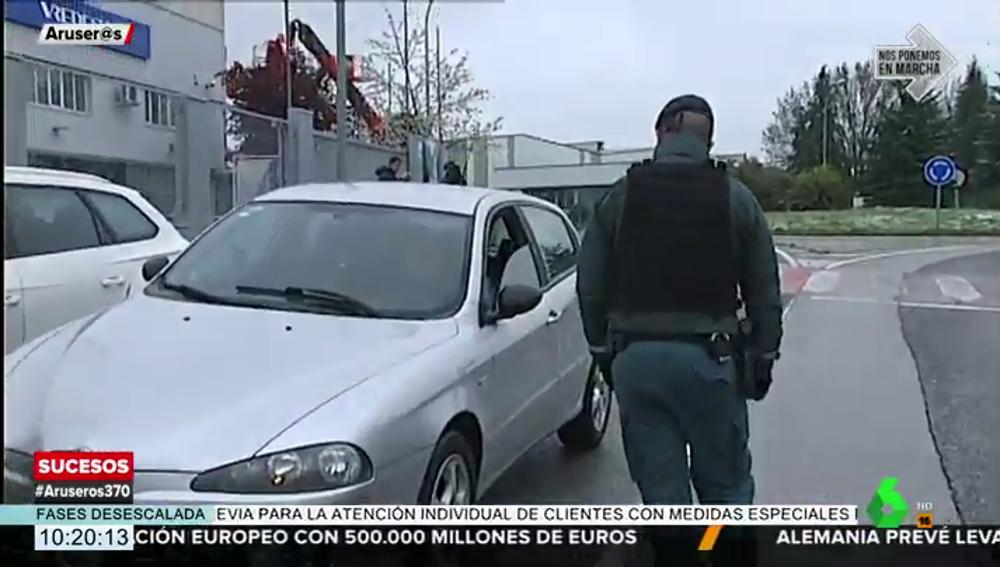 Le paran por ir a comprar pan desde Zaragoza a Navarra y da positivo en tres drogas: 1.800 euros de multa
