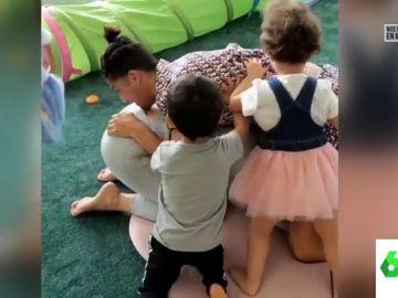 El tierno vídeo de Cristiano Ronaldo y Georgina Rodríguez con sus hijos