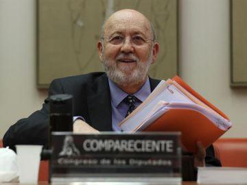 El presidente del Centro de Investigaciones Sociológicas comparece en la Comisión Constitucional del Congreso de los Diputados.