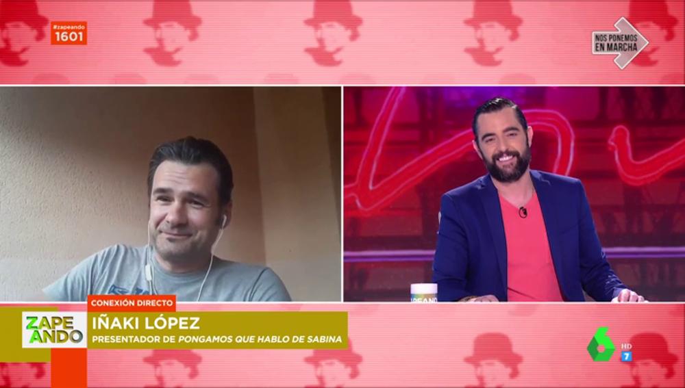 Iñaki López y Dani Mateo