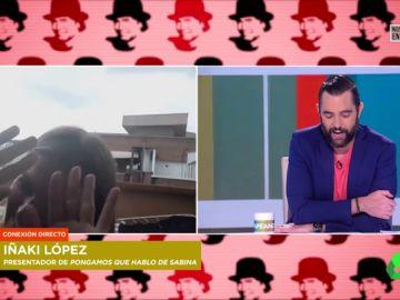 """Andrea Ropero boicotea sin querer a Iñaki López en pleno directo: """"Somos gente de tele, pero no siempre se nota"""""""