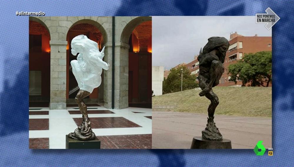 La escultura homenaje a las víctimas donada a Madrid no solo se creó en 1995: su autor donó otra igual a un pueblo hace años