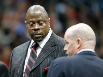 Patrick Ewing, expívot de los Knicks de Nueva York,
