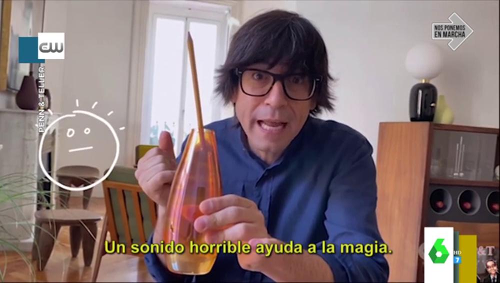Luis Piedrahita desvela lo que hay detrás de su truco de magia que ha conquistado a la televisión de Estados Unidos