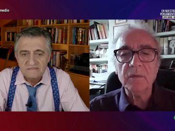 Wyoming charla en El Intermedio con el escritor Juan José Millás