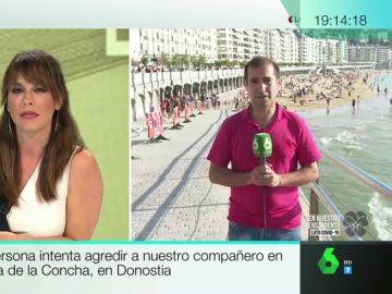 El periodista de laSexta agredido en la playa de La Concha explica lo sucedido: