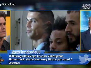 "Josep Pedrerol, sobre la final de Kiev 2018: ""Cristiano amargó la fiesta del madridismo"""