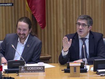 """Espinosa abandona la comisión tras afirmar Iglesias que en Vox """"quieren dar un golpe de Estado, pero no se atreven"""""""