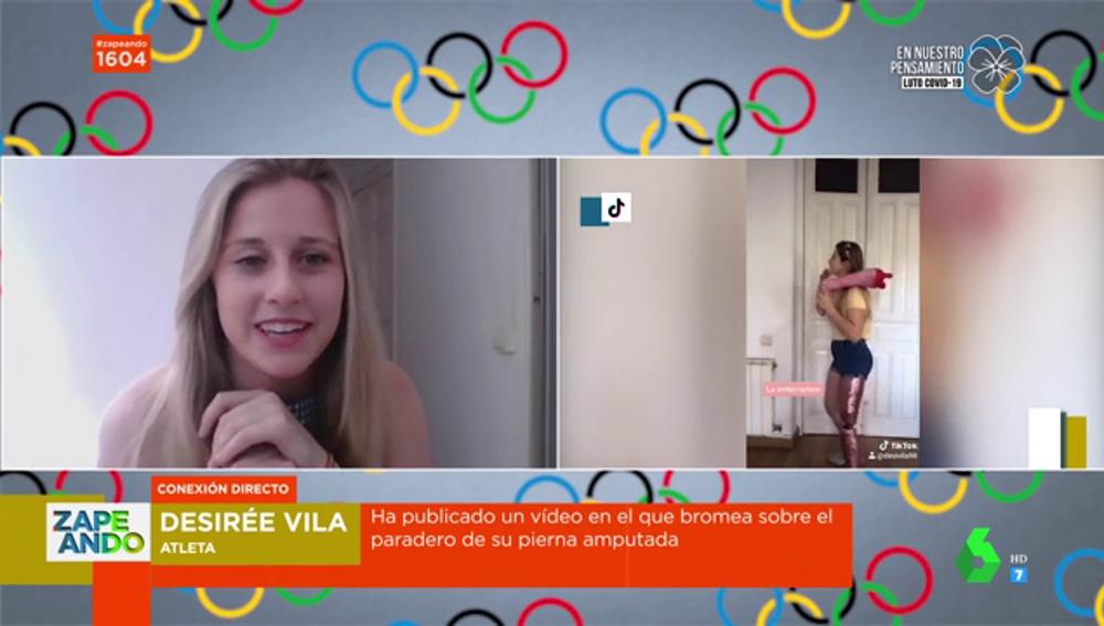 Desirée Vila, atleta paralímpica
