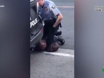 Las imágenes de la muerte del afroamericano George Floyd a manos de la Policía