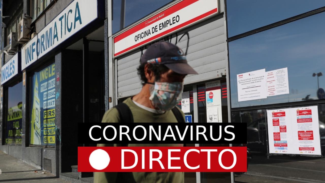 Coronavirus España: Casos, muertos, y cambio de fase de desescalada, en directo