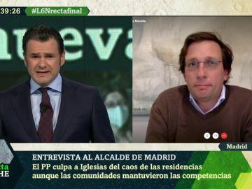 Entrevista al alcalde de Madrid en laSexta Noche