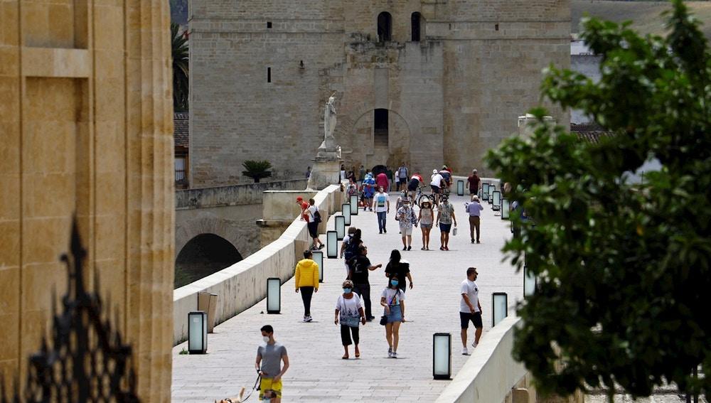 Imagen del puente romano de Córdoba
