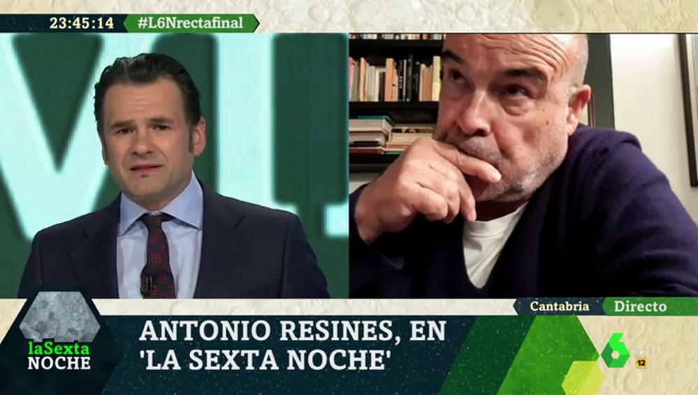 El actor Antonio Resines en laSexta Noche