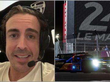 Fernando Alonso, en las 24 Horas de Le Mans virtuales