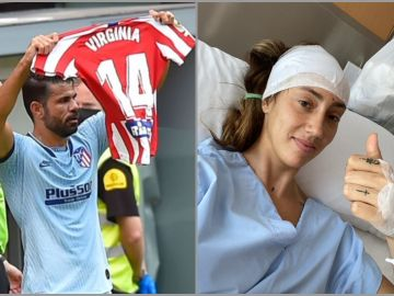 Diego Costa y su dedicatoria para Virginia Torrecilla